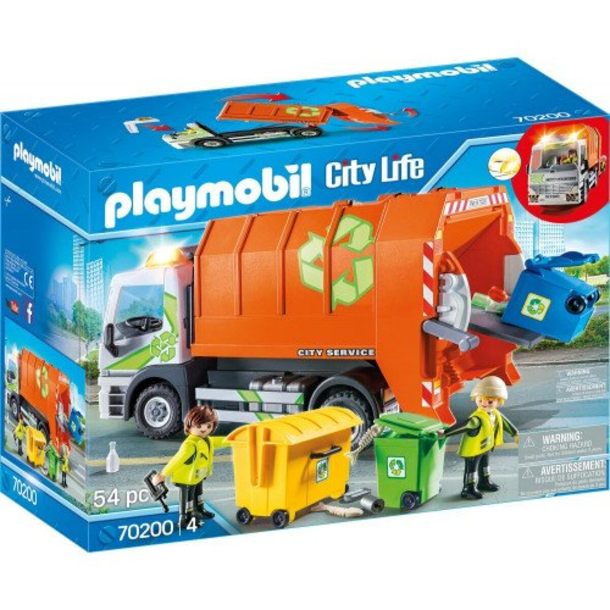 Bild 1 von PLAYMOBIL 70200 Müllfahrzeug