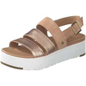 UGG Braelynn Metallic Sandale Damen rosa