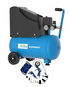 Güde KOMPRESSOR 220/8/24 13 TLG | B-Ware - der Artikel wurde vom Hersteller geprüft und ist technisch einwandfrei - kann Gebrauchsspuren aufweisen