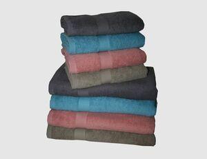 Handtuch Summer grau