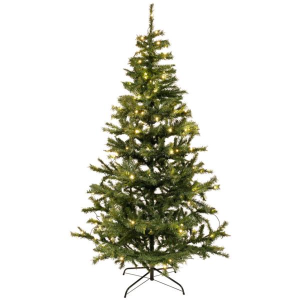 Weihnachtsbaum mit LED-Beleuchtung