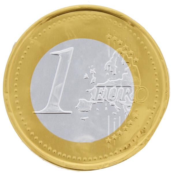 Schoko-Euromünzen