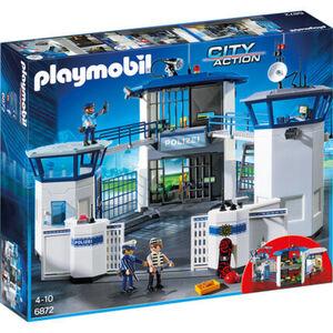 PLAYMOBIL® City Action - Polizei-Kommandozentrale mit Gefängnis 6872