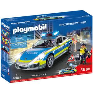 PLAYMOBIL® City Action - Porsche 911 Carrera 4S Polizei 70067