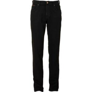 Wrangler Herren Jeans Texas, black overdye, W32/L32, W32/L32