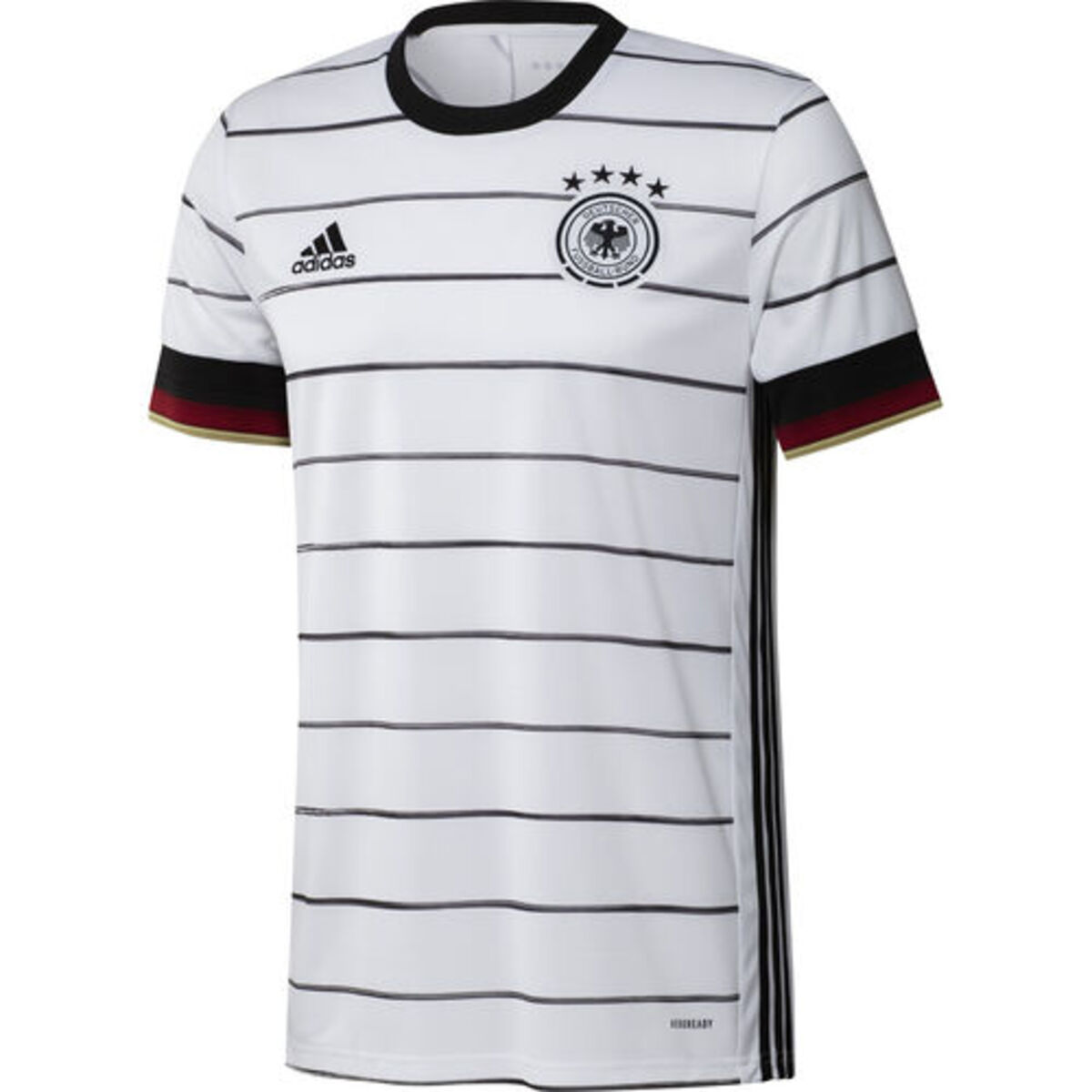Bild 5 von adidas Herren DFB Heimtrikot, weiß, M, M