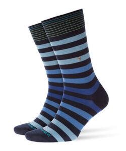 Burlington Herren Socken Blackpool, marine, 40-46, 40-46