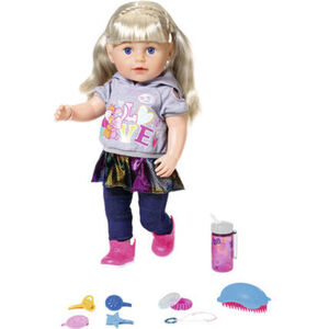 Zapf Creation® BABY born® Soft Sister blond, lila