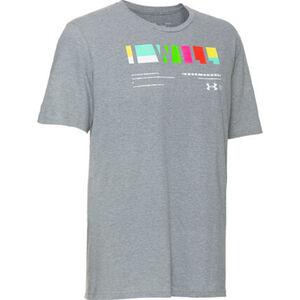 Under Armour Herren T-Shirt, hellgrau meliert, XXL, XXL