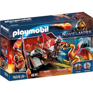 PLAYMOBIL® Novelmore - Burnham Raiders Kampftraining des Drachen 70226