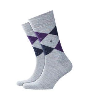 """Burlington Socken """"Edinburgh"""", Schurwolle, Argyle-Muster, 6335 mahar, 40-46"""