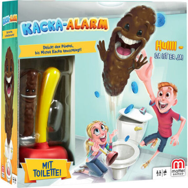 Mattel Games Kacka-Alarm