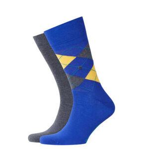 """Burlington Socken """"Everyday"""", 2er-Pack, gekämmte Baumwolle, 6047 marin, 40-46"""