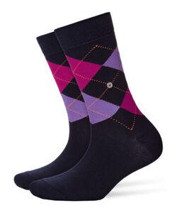 Burlington Damen Socken, marine, 36-41, 36-41