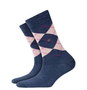 """Burlington Socken """"Marylebone"""", Karo-Design, Lurex"""