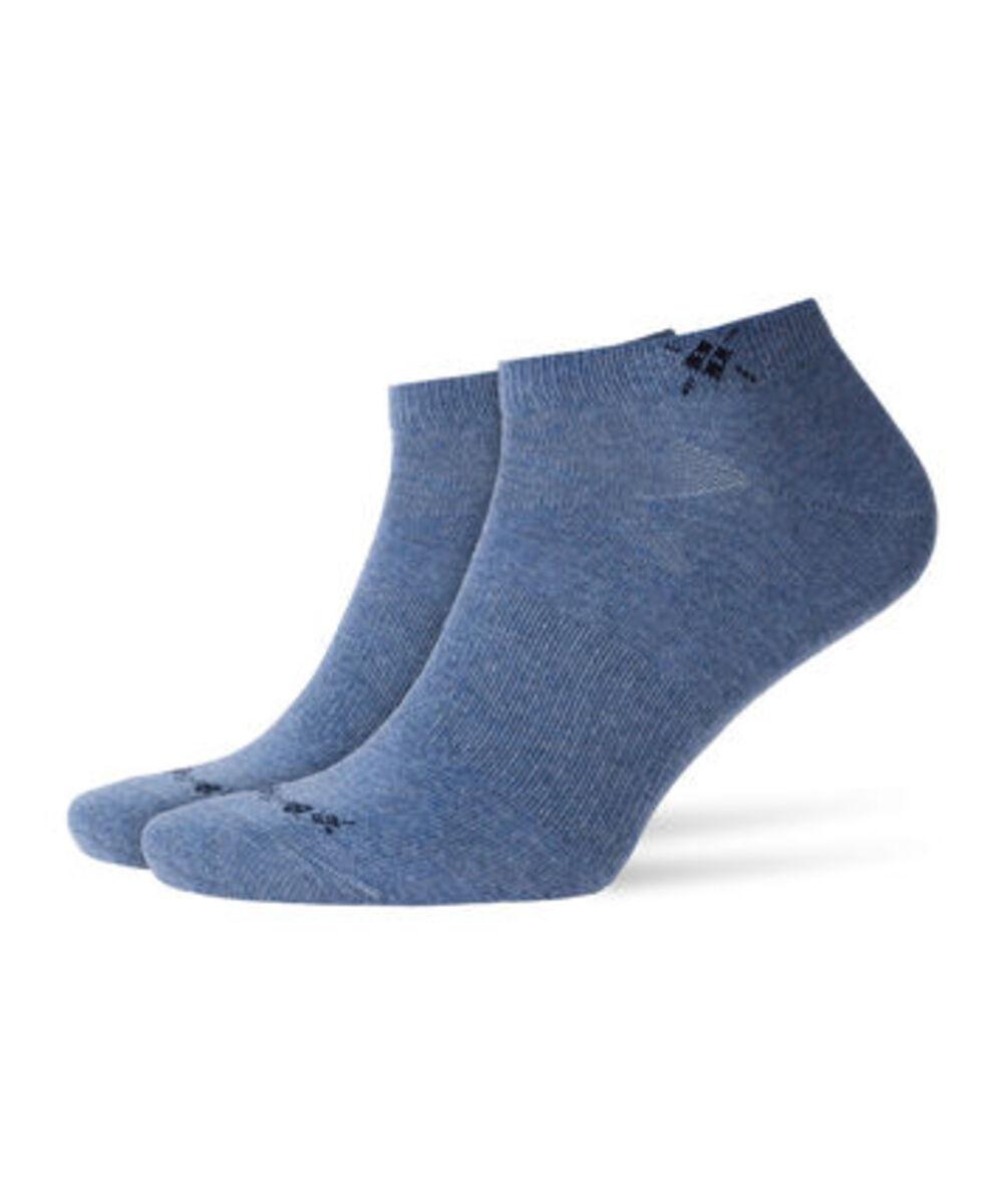 Bild 1 von Burlington Herren Sneakersocken, 2er-Pack, jeansblau, 40-46, 40-46