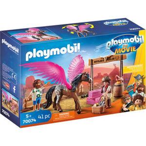 PLAYMOBIL® The Movie - Marla, Del und Pferd mit Flügeln 70074