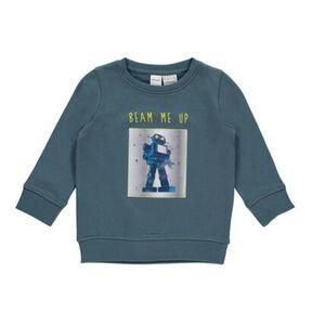 manguun Jungen Sweatshirt mit Roboter-Hologramm