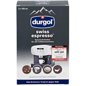 Durgol swiss espresso Spezial-Entkalker, 2 x 125 ml