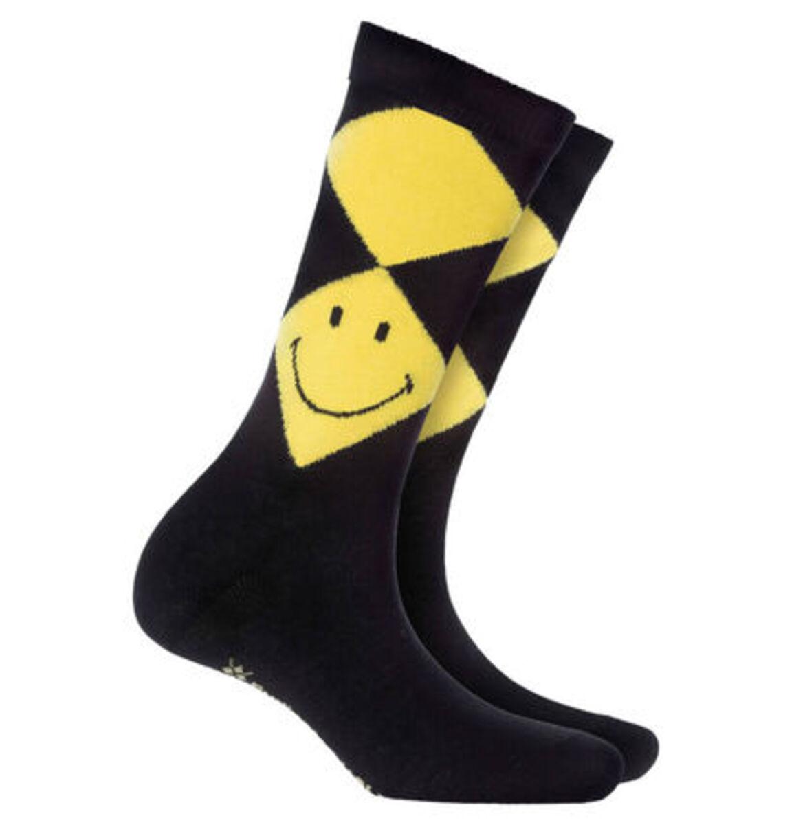 """Bild 1 von Burlington Socken """"Smiley Argyle"""""""