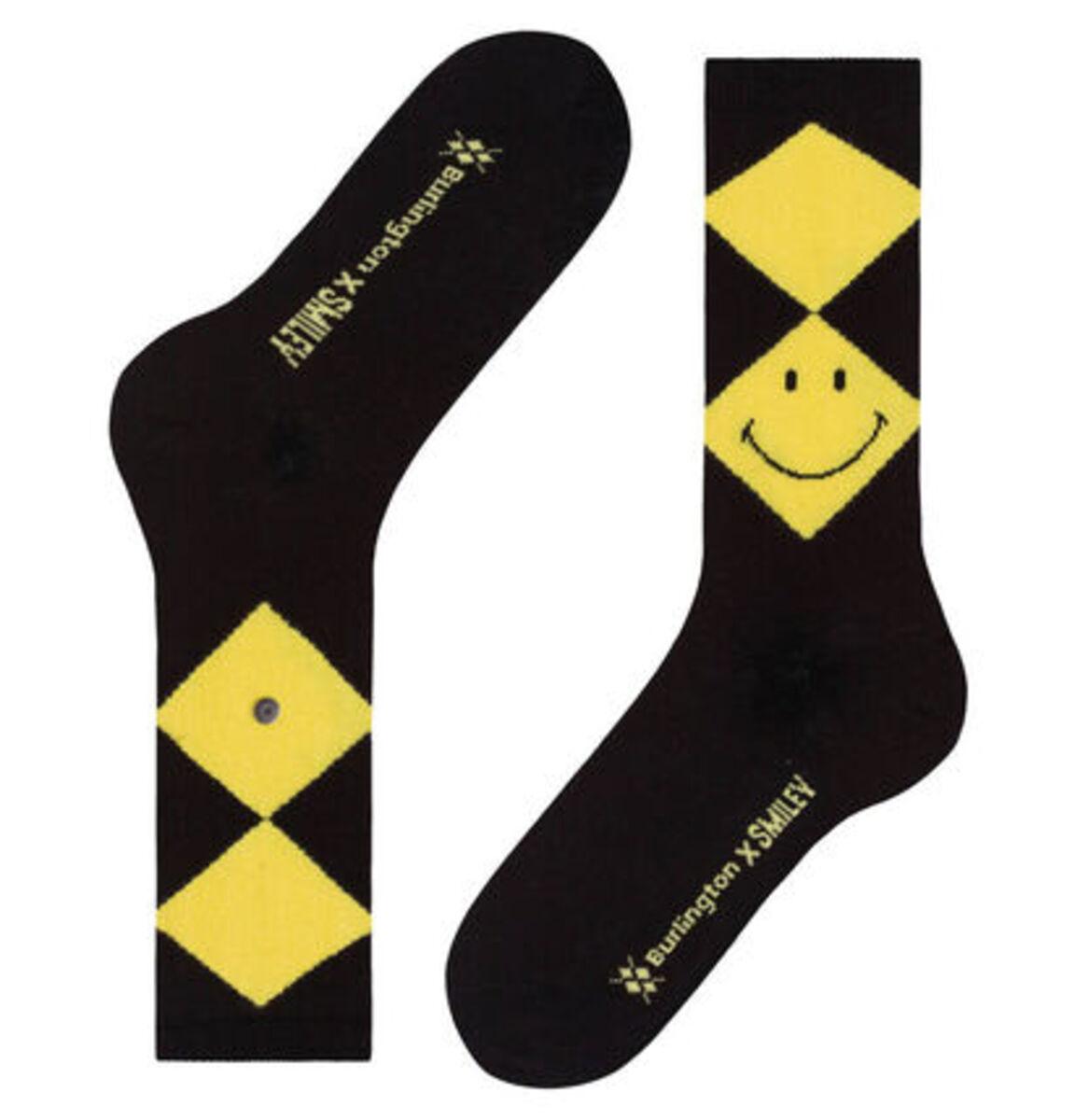 """Bild 3 von Burlington Socken """"Smiley Argyle"""""""