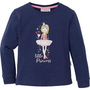 Salt & Pepper Mädchen Sweatshirt mit Glitzerprint und Stitching