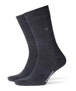 Burlington Herren Socken Leeds, dunkelgrau, 40-46, 40-46