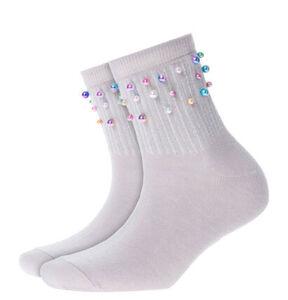 "Burlington Socken ""Pearly Plastic"""