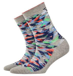 """Burlington Socken """"Neon Camo"""""""