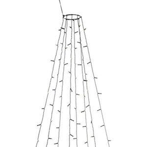 Konstsmide LED Baummantel mit Ring, 8 Stränge, 400 LEDs