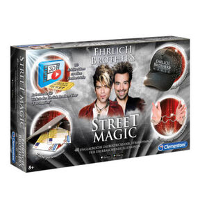 Clementoni Zauberkasten Ehrlich Brothers Street Magic