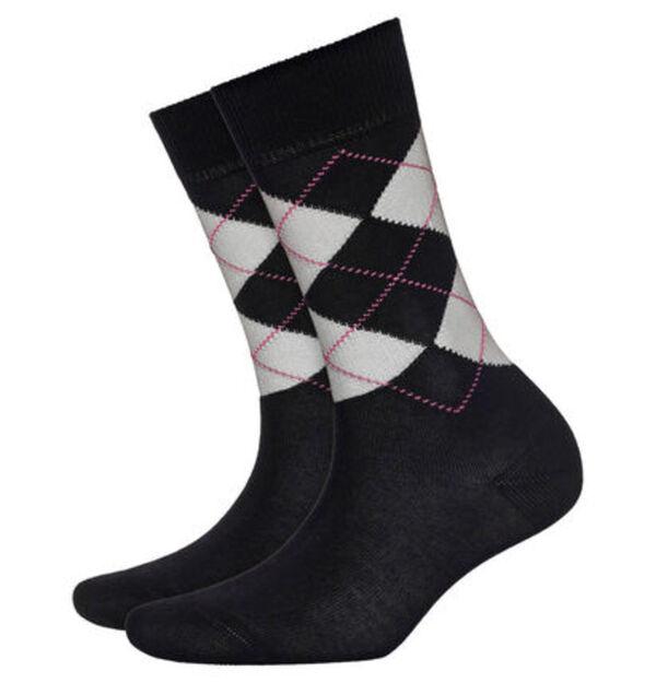 "Burlington Socken ""Covent Garden"", Arglye-Design, Baumwollmix"