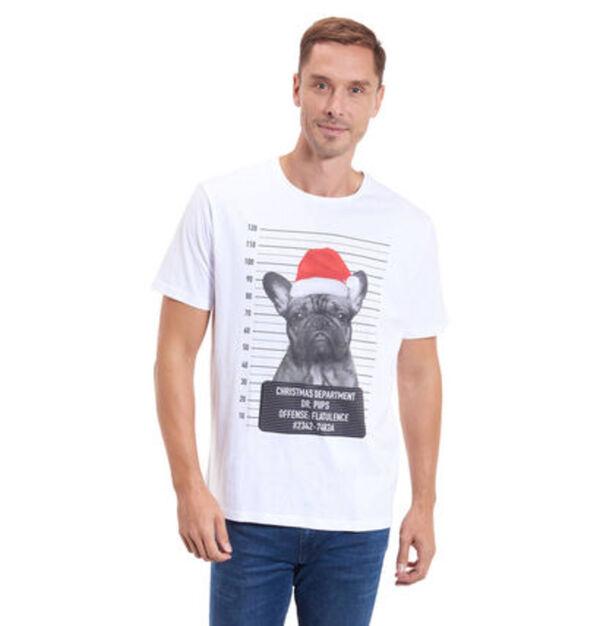 manguun Herren Weihnachts-T-Shirt