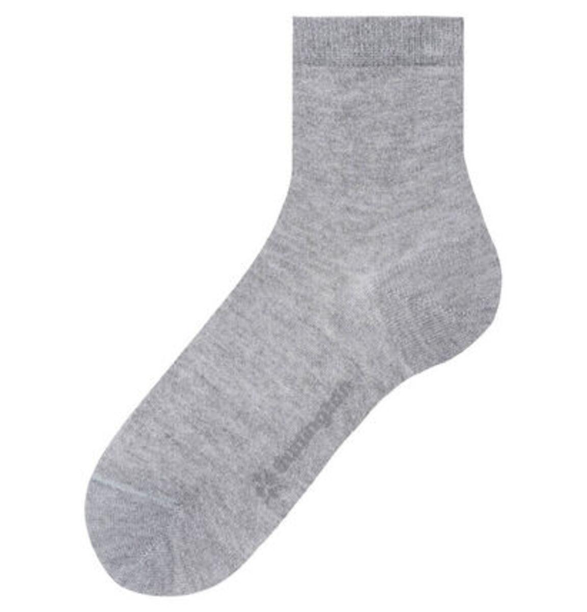 Bild 2 von Burlington Damen Socke, hellgrau meliert, 36-41, 36-41
