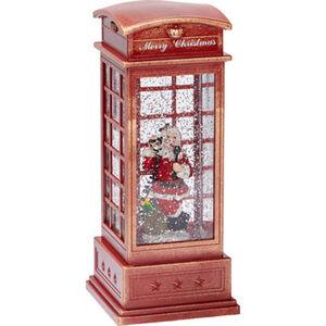 """Konstsmide LED-Telefonzelle """"Let it snow"""""""