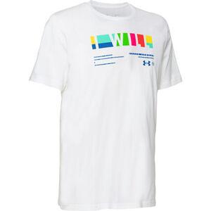 Under Armour Herren T-Shirt, weiß, M, M