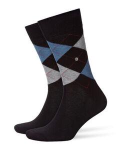 Burlington Herren Socken, schwarz, 40-46, 40-46