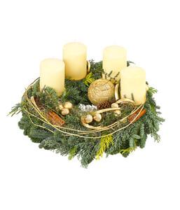 Adventskranz 'Chamonix'