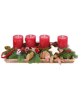 Adventsgesteck 'Tradition'