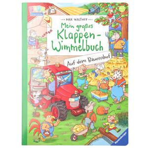 """Kinder Klappen-Wimmelbuch """"Auf dem Bauernhof"""""""