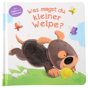 """Baby Fühlbuch """"Was magst du, kleiner Welpe?"""""""