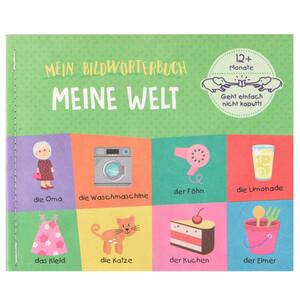 Babybuch Meine Welt mit reißfestem Material
