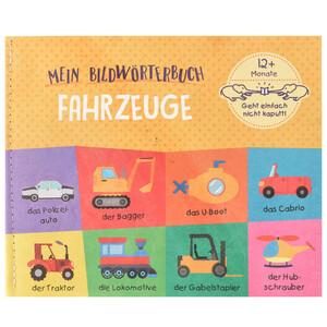 Babybuch Fahrzeuge aus reißfestem Material