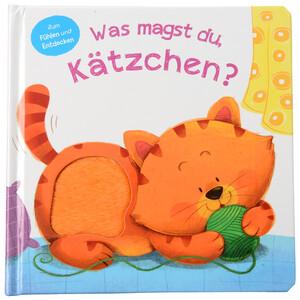 """Baby Fühlbuch """"Was magst du, Kätzchen?"""""""