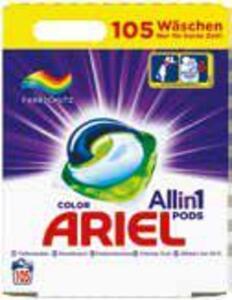 Ariel Flüssigwaschmittel oder Pods