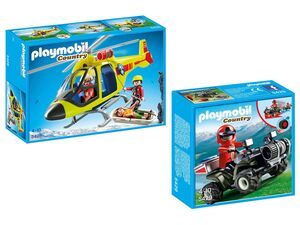 Playmobil Bergrettungset