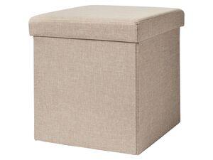 LIVARNO LIVING® Sitzhocker, mit Aufbewahrungsmöglichkeit und abnehmbarer Sitzauflage