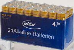 elta Alkaline-Batterien