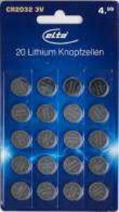 elta CR2032-Lithiumknopfzellen