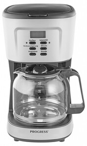 Progress Kaffeemaschine, Titanium